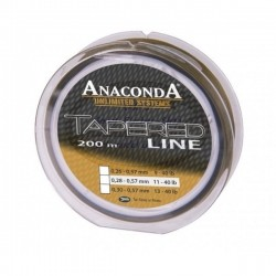 Anaconda - Tapered Line 250ml 0,30-0,57mm