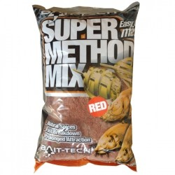 Bait Tech - Zanęta Super Method Mix Red 1kg