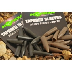 Korda - Tapered Silicone Sleeves - Green