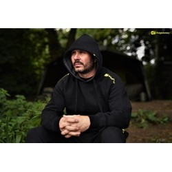 RidgeMonkey - Hoodie Black size L - 70% cotton, 30% polyester