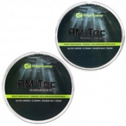 Ridge Monkey- RM-Tec Braided Mainline 20lb (9,1kg) 0,28mm Olive Green 300m