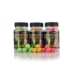 Tandem Baits - SuperFeed Fluo Mini Pop-Up 12mm/35g Truskawka Kremowa