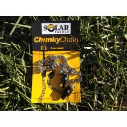 "Solar - 9"" Stainless Chain Plastic End"