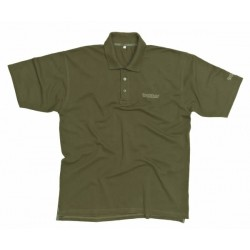 Trakker - Cotton Piquet Polo Shirt Olive XL - Stare Logo